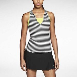Nike Stripe Pure Black White Striped
